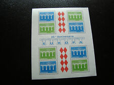 MONACO - timbre yvert et tellier bloc n° 28 n** (Z4) stamp (A)