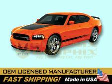 2005 2006 2007 2008 2009 2010 Dodge Charger Daytona Strobe Decals & Stripes Kit