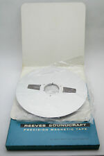 "NEW OLD STOCK VINTAGE REEL TO REEL TAPE 14"" INCH REEVES SOUNDCRAFT"
