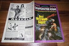 GESPENSTER KRIMI # 194 -- der WERWOLF-JÄGER // von Frank deLorca 1975