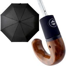 pierre cardin Herren-Regenschirm (Hakengriff) Taschenschirm Automatik-Schirm neu