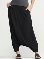 NWT Eileen Fisher Harlem Jersey pants sz XL Black