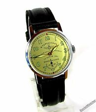 Poljot Shturmanskie Gagarin wrist watch Vintage USSR RARE Serviced & oiled