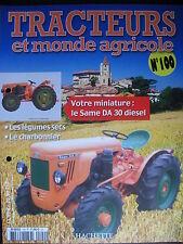FASCICULE 100 TRACTEURS ET MONDE AGRICOLE SAME DA 30 DIESEL VERMOREL A CHENILLES