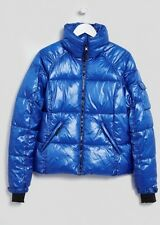 Ladies Lightweight Blue Puffa Jacket / Winter Coat - Size Small (UK 8/10) BNWT