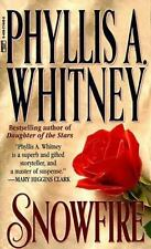 Snowfire by Phyllis A. Whitney (1987, Paperback)