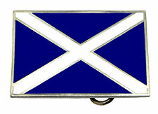 Scottish Flag Of St Andrew Belt Buckle Saltire Scotland Dragon Designs Product