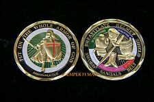 """PUT ON THE WHOLE ARMOR OF GOD"" CHALLENGE COIN EPHESIANS 6:13-17 USA MILITARY!!!"
