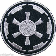 Star Wars Imperial Target Storm Trooper Black Sew Iron on Patch Embroidered 1012