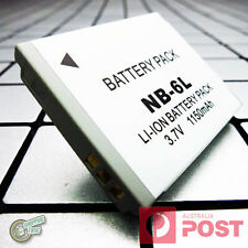 NB6L NB6LH NB-6L 6LH Battery for Canon Digital IXUS 105 210 85 200 IS Touch 25IS