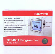 HONEYWELL ST9400A 1002 ,1 - DAY ,2 CHANNEL PROGRAMMER