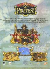 "Sid Meiers Pirates ""PSP"" 2007 Magazine Advert #4897"