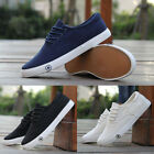 Fashion Men's Casual Shoes Canvas Breathable Sports Running Athletic Shoes Black