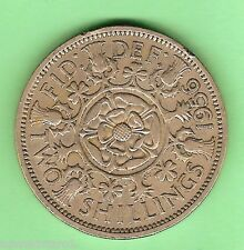 1956   GREAT BRITAIN  FLORIN TWO SHILLINGS