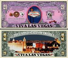 LAS VEGAS - BILLET MILLION DOLLAR US! Collection ETATS UNIS CASINO JEUX USA VIVA