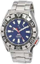 ORIENT M-Force SEL03001D0 Automatic Men's Watch WV0021EL Navy from Japan New