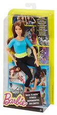 BARBIE MADE TO MOVE POSABLE YOGA DOLL HISPANIC TERESA DJY08 *NU*