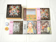 Hawkwind JAPAN 5 titles Mini LP HQCD SS + PROMO BOX + PIN BAGDE x 2 SET