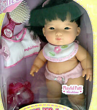 """BERENGUER LOTS TO LOVE BABY STEPS Playful Patti 10"""" Asian Doll NRFB #17502"""