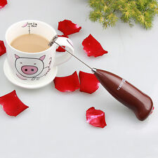 Newest Handheld Drinks Milk Frother Foamer Whisk Mixer Stirrer Egg Beater Coffee