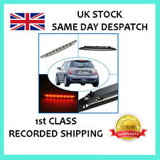 FOR MINI COOPER ONE R50 R53 2001-2006 CHROME 3RD THIRD LED REAR BRAKE LIGHT STOP