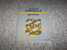 2005 Toyota Corolla Electrical Wiring Diagram Manual CE S LE XRS 1.8L 4Cyl