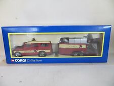 CORGI 60004 LAND ROVER 109 LWB & HORSEBOX TRAILER - ELLERDALE - MIB/BOXED