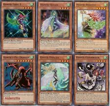 Yugioh Harpie Lady Deck - Pet Dragon, Queen, Channeler, Dancer, Harpist