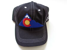 Colorado Hat: State Flag Sports/Golf Hat - Mountain C