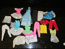 Barbie clothes doll friend Play outfit Pants shirt gown dress accessories A20