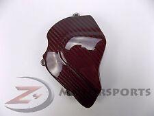 2004-2008 RSV 1000 RSV1000R Engine Sprocket Chain Case Cover Carbon Fiber Red