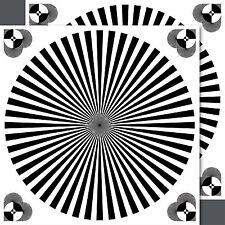2 Stück Aufkleber Auflösungsvermögen Fokus Linien Test chart Spiegelreflexkamera