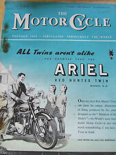 THE MOTORCYCLE MAGAZINE MAR 1952 FUEL TAX REDUCED OVERSEA MARKETS