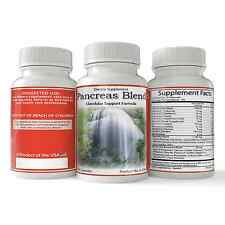 Pancreas Supplement, Herbal Digestive Health Support, Natural Holistic 90ct