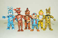 TOY MEXICAN SET 6 FIGURES FIVE NIGHTS AT FREDDY'S ANIMATRONICS TERROR .