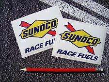 Sunoco Estilo Vintage Pegatinas De Combustible Racing 11cm X 8cm F1 Targa Florio fórmula 1