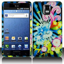 Flower Blast Hard Case Phone Cover Samsung Infuse 4G