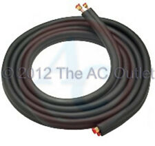 "Copper Line Set for all brand Mini Split AC & Heat Pump Systems 15' 3/8"" 1/4"""