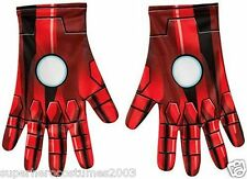 The Avengers Age of Ultron Iron Man Adult Gloves Marvel Comics New Rubies 36364
