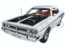 1971 DODGE DEMON 340 WHITE LIMITED EDITION 1002PCS 1/18 BY AUTOWORLD AMM1096