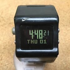 Nike WC0020 Anvil Super Watch Mens LCD Digital Chrono Quartz Hours~New Battery