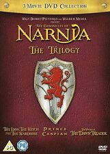 CHRONICLES OF NARNIA TRILOGY 1 - 3 DVD Box Set Complete Collection NEW UK