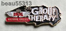 HARLEY OWNERS GROUP GROUP THERAPY  2000 NATIONAL HOG VEST HAT JACKET BADGE PIN