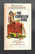 THE CARNELIAN CUBE (SIGNED by L. Sprague de Camp/Fletcher Pratt/1st US pb)