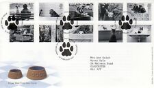 2001 CATS & DOGS - ROYAL MAIL COVER - PETTS WOOD SPMK