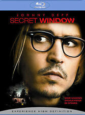 SECRET WINDOW New Sealed Blu-ray Johnny Depp