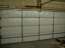 NASA Tech White Reflective Foam Core Garage Door Insulation Kit 9L x 7H