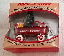 Radio Flyer Christmas Tree Ornament Red Wagon New In Box 1997