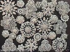 52 pcs Mixed Sliver Rhinestone Crystal Button Brooch Wedding Bouquet DIY Kit Lot