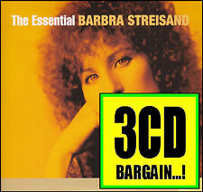 BARBRA STREISAND (3 CD) THE ESSENTIAL 3.0 ~ GREATEST HITS / BEST OF *NEW*